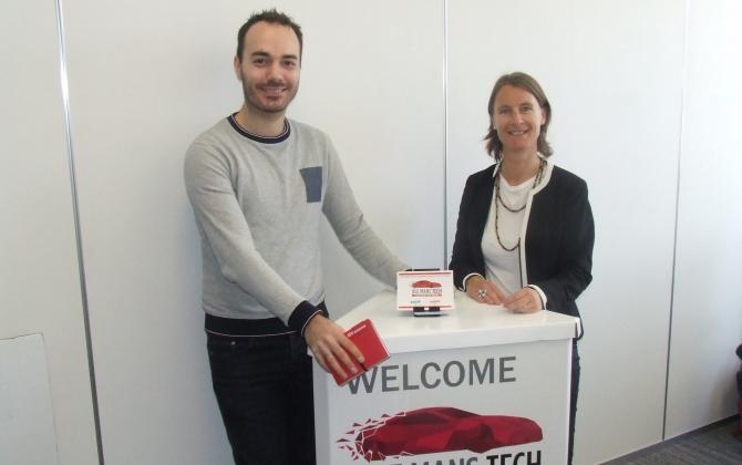 Interview de Antoine Charon, le nouveau président de l'association Le Mans Tech