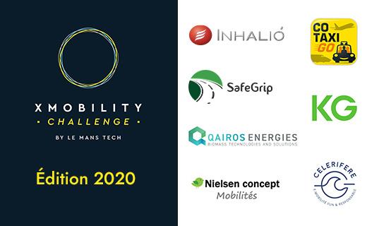 Bravo aux lauréats  du CHALLENGE XMOBILITY 2020