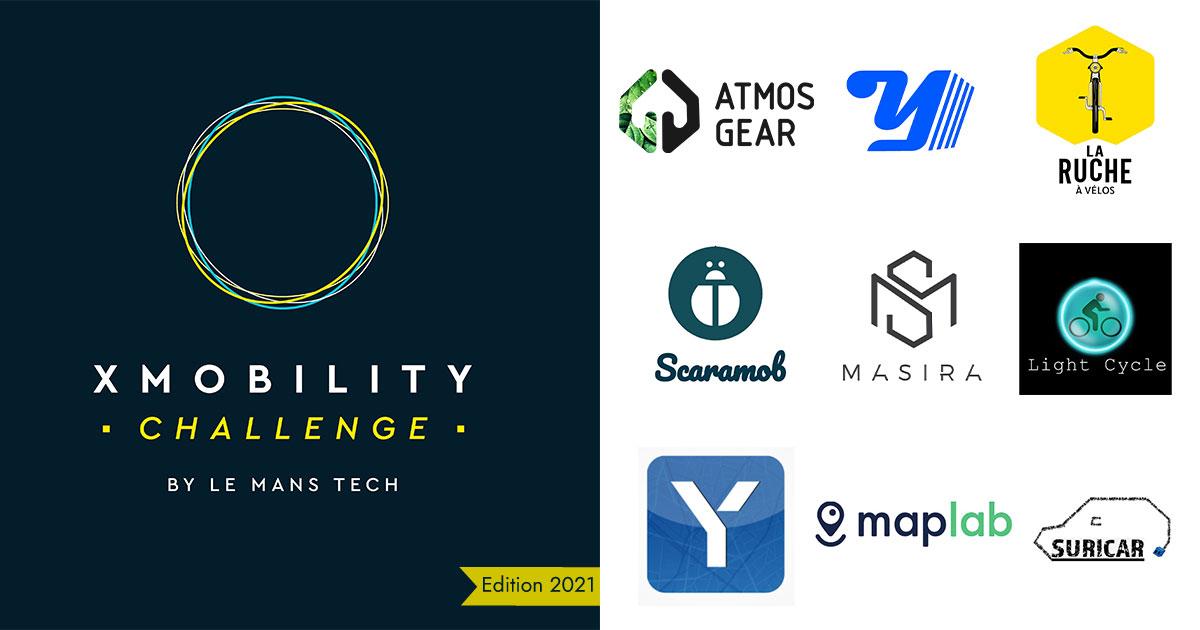 Les lauréats de X-Mobility challenge édition 2021 sont …