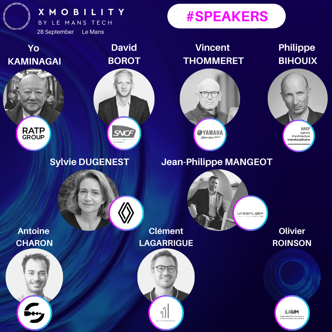 WELCOME TO  XMOBILITY LE MANS – 28 SEPTEMBRE